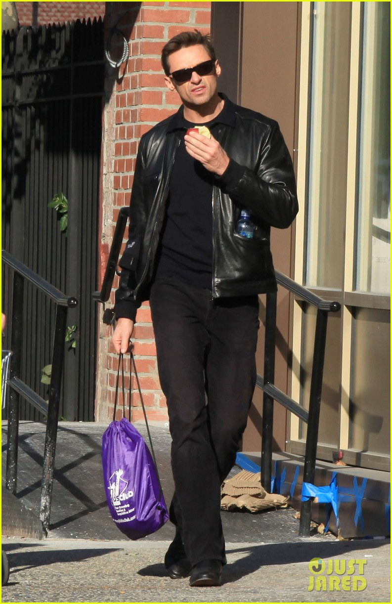 hugh jackman deborra lee furness day out with ava 072596292
