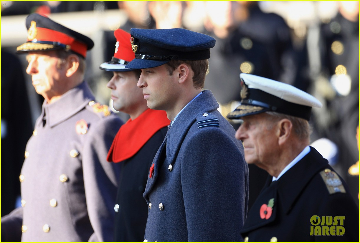 prince william duchess kate remembrance day 05