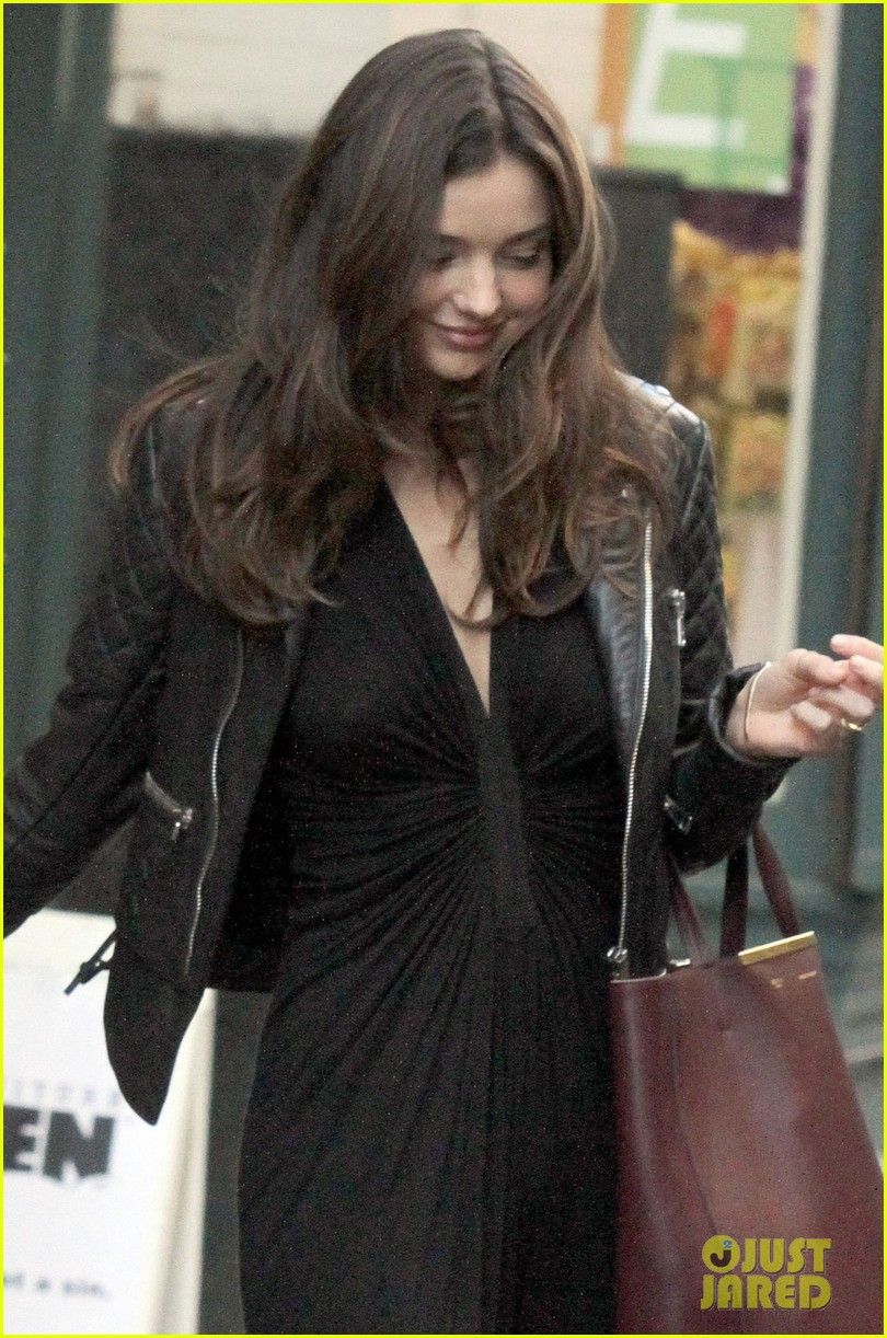 miranda kerr quilted leather jacket nyc 032597676