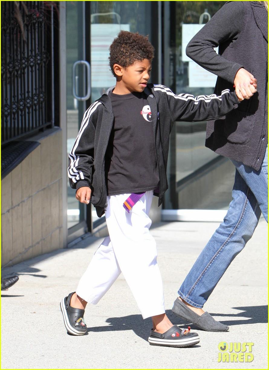 heidi klum karate kids 01