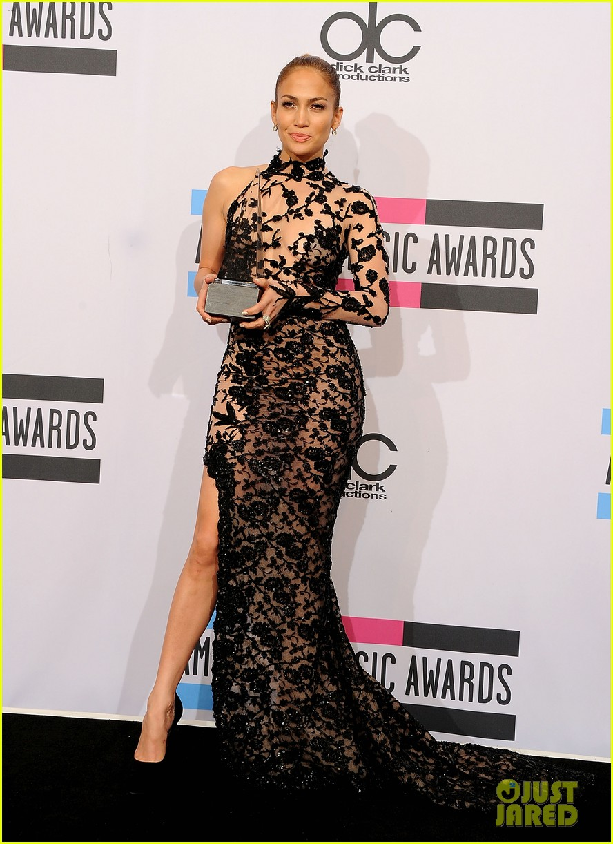 jennifer lopez amas winner 2011 08