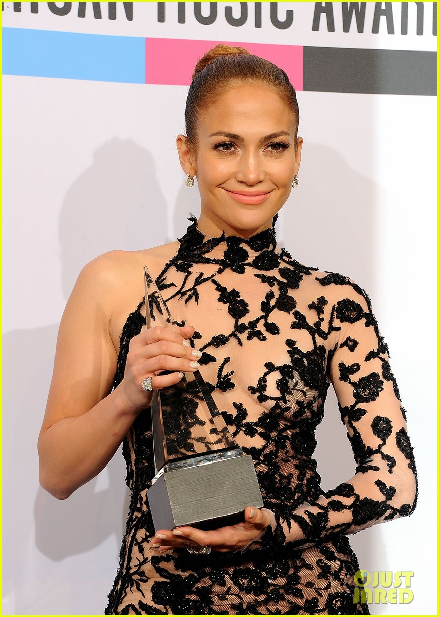 jennifer lopez amas winner 2011 09
