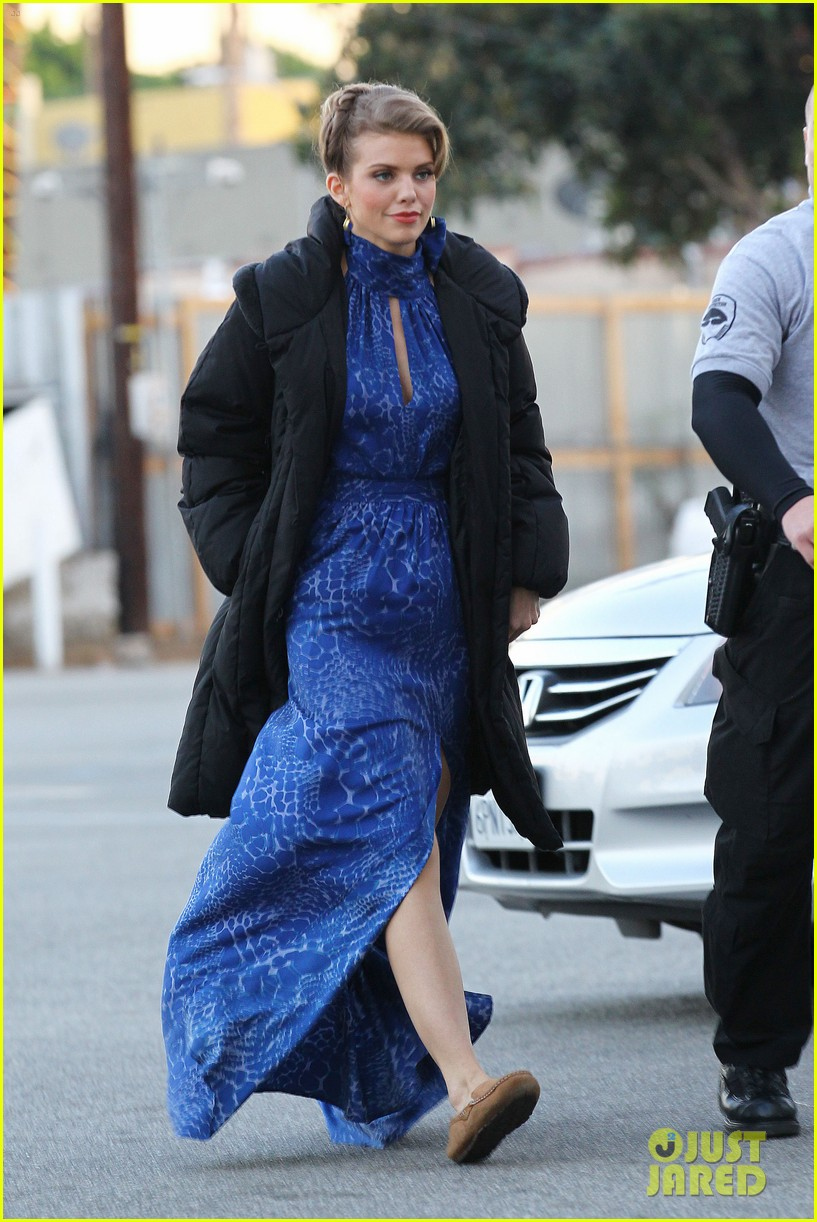 annalynne mccord waves on set 212603988