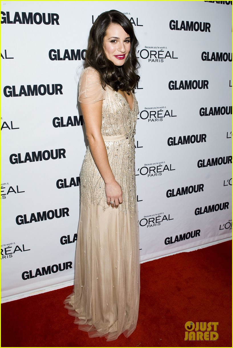 lea michele glamour awards 012597747