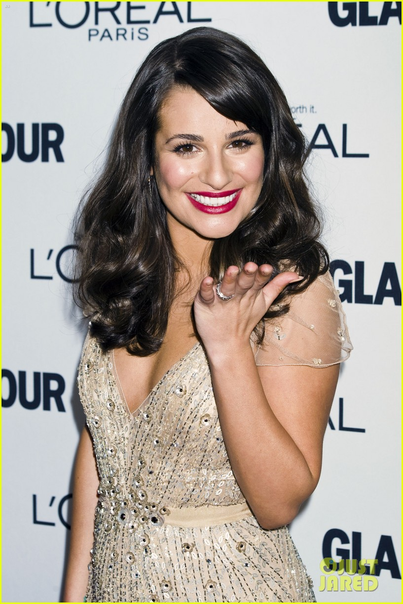 lea michele glamour awards 072597753