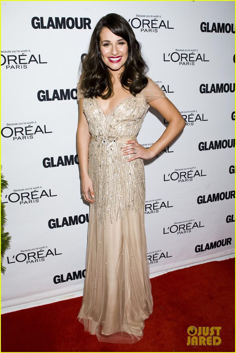 lea michele glamour awards 122597758