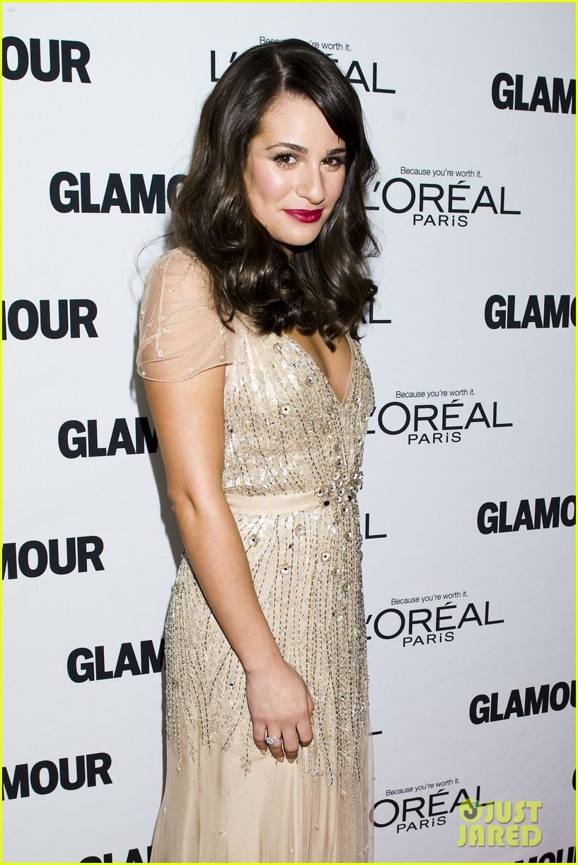 lea michele glamour awards 142597760