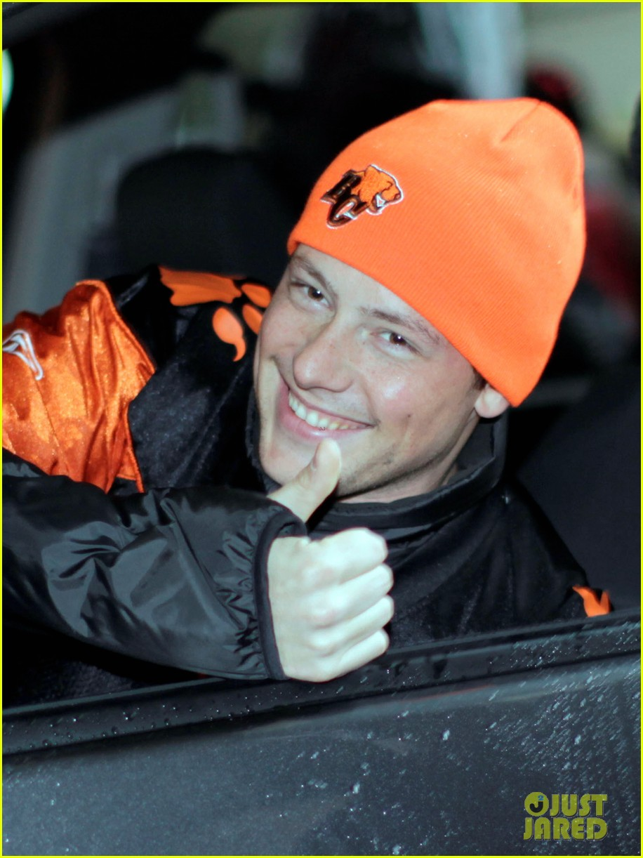 cory monteith grey cup parade grand marshal 022604180