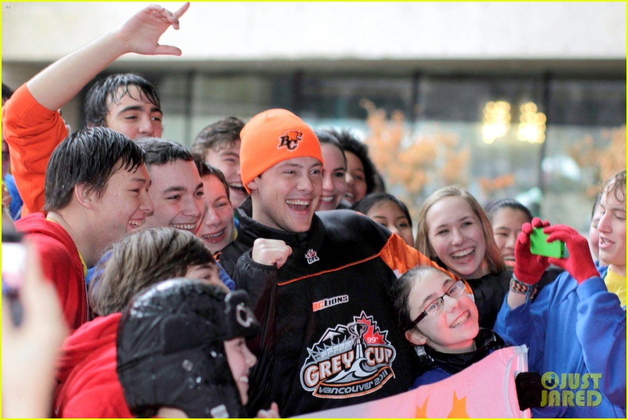 cory monteith grey cup parade grand marshal 082604186