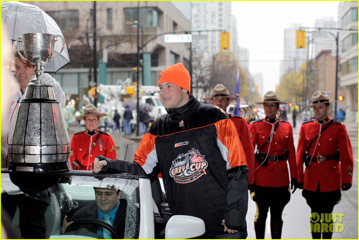 cory monteith grey cup parade grand marshal 10
