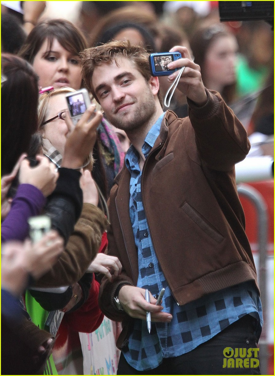 robert pattinson today show 072598919