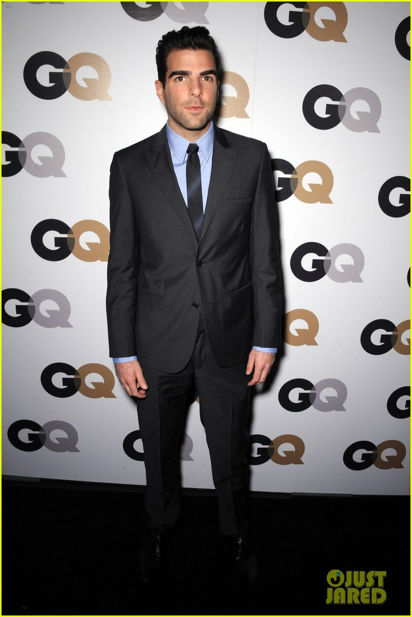 chris pine gq men of the year party with zachary quinto 01