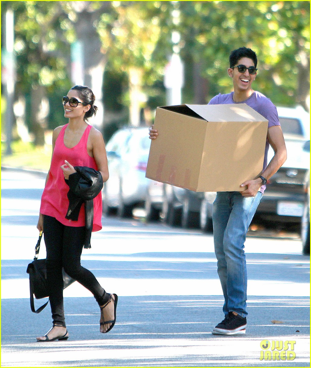 freida pinto dev patel lunch and moving 052597151