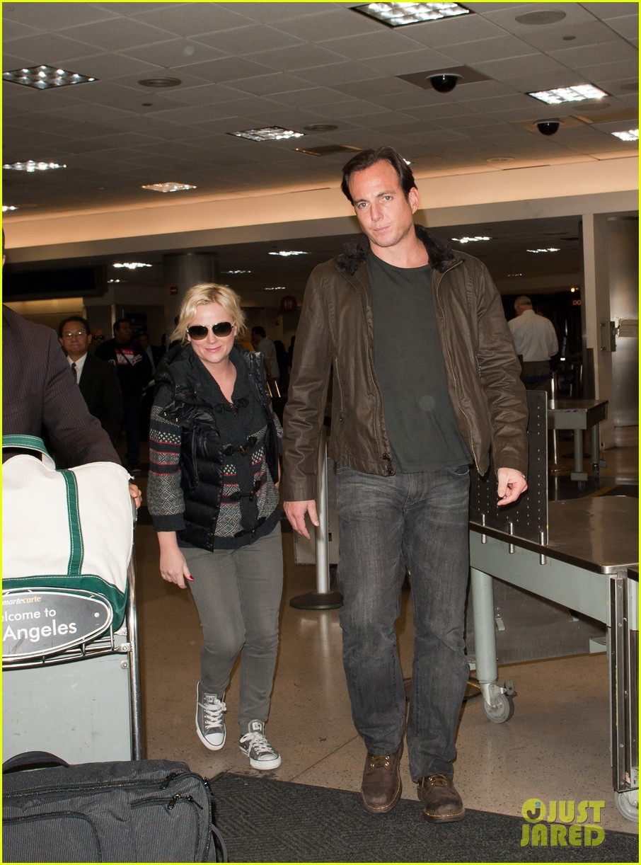 amy poehler will arnett airport 022601102