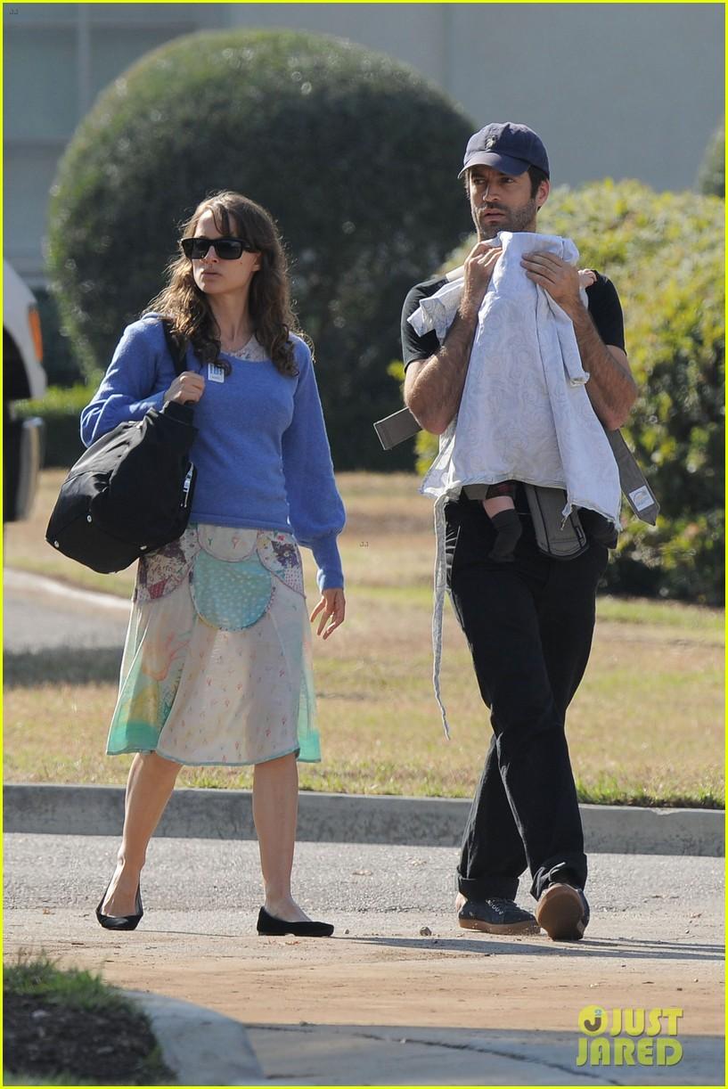 Natalie Portman Amp Benjamin Millepied Gardens With Aleph