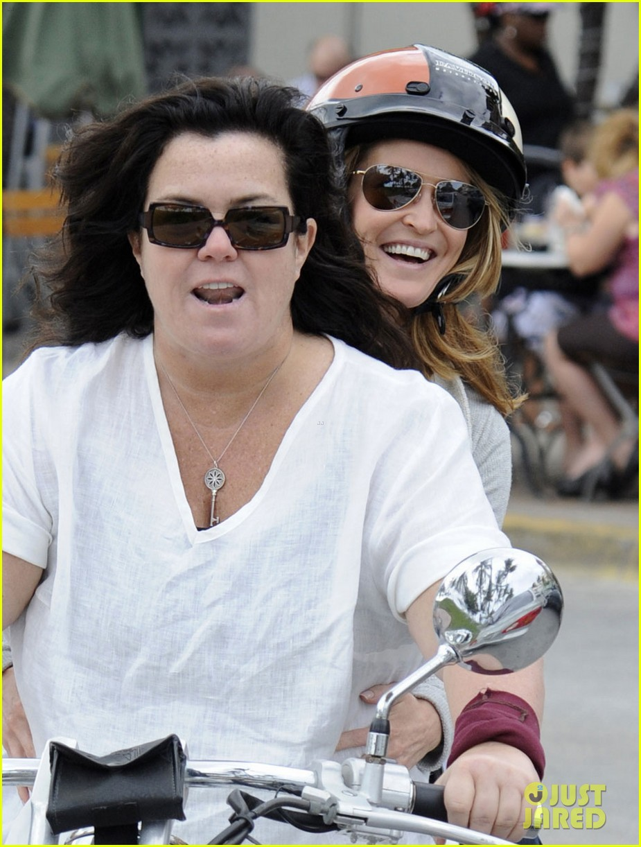 rosie odonnell michelle rounds motorcycle 012604588