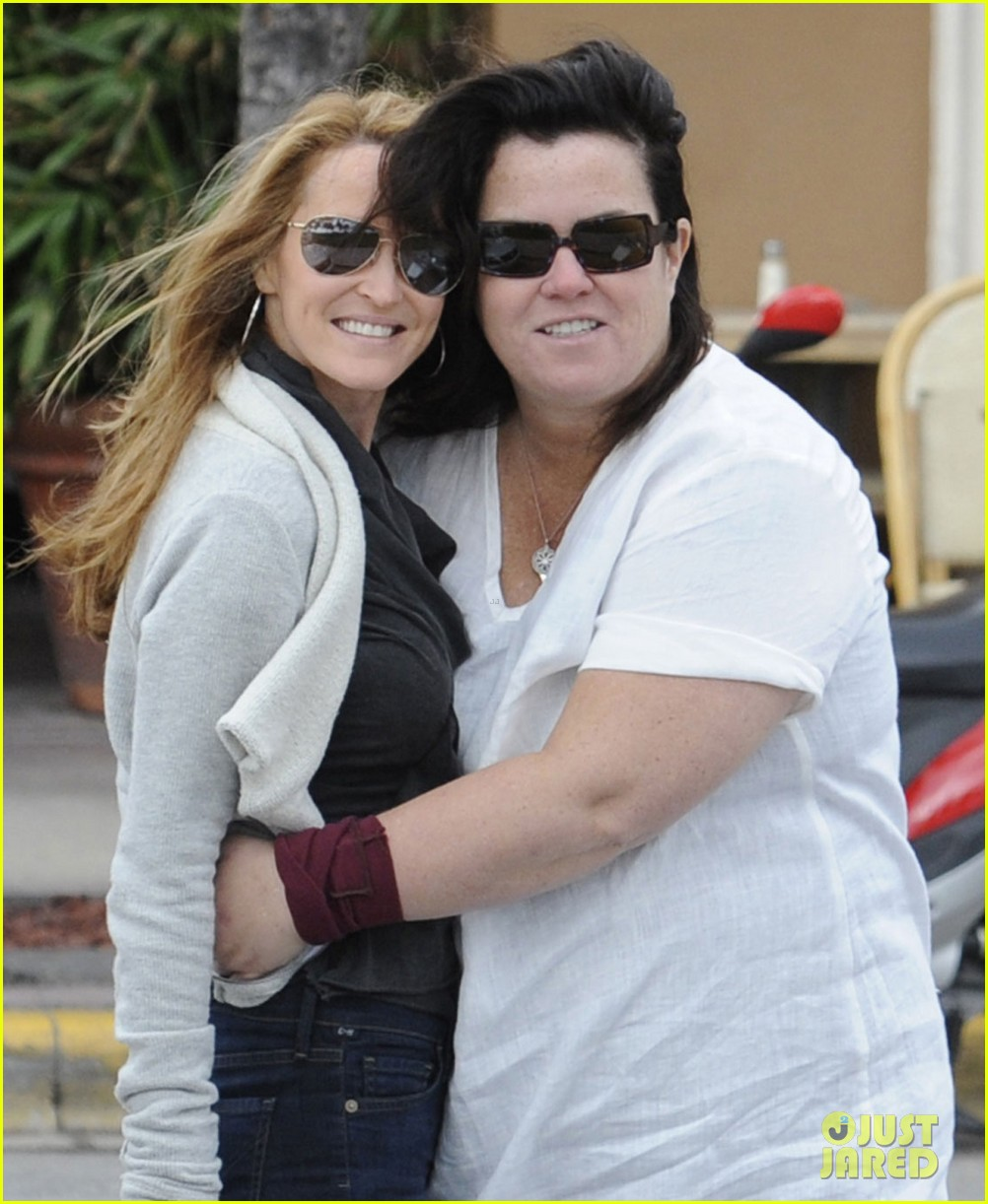 rosie odonnell michelle rounds motorcycle 032604590