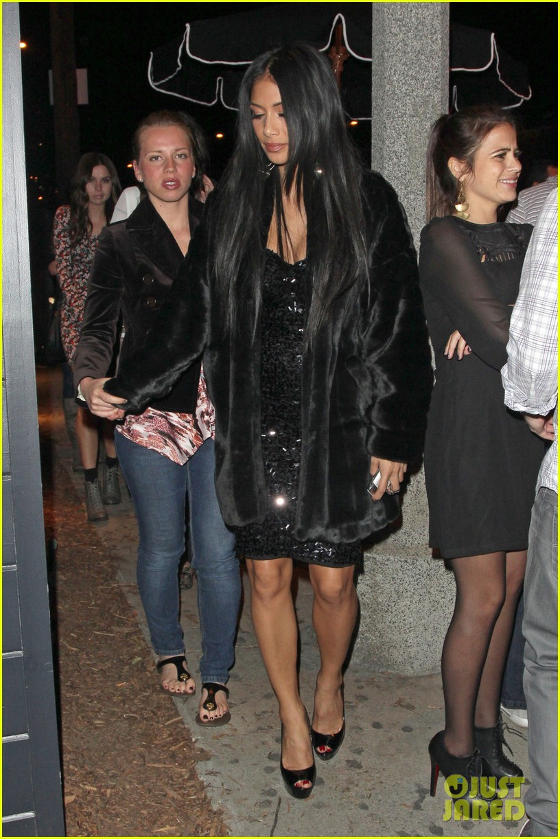 nicole scherzinger leaves club 012599473