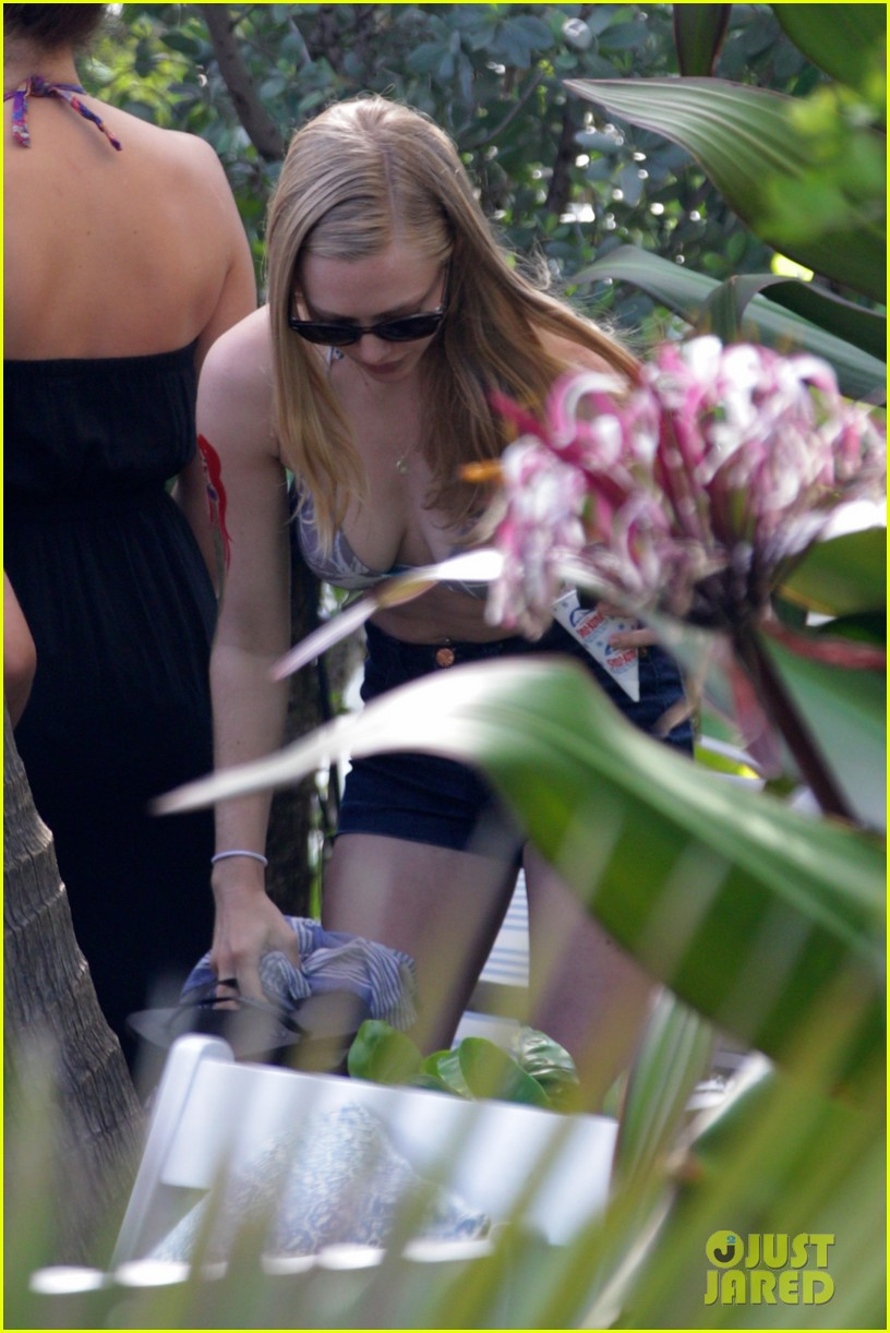 amanda seyfried pool party in miami 02
