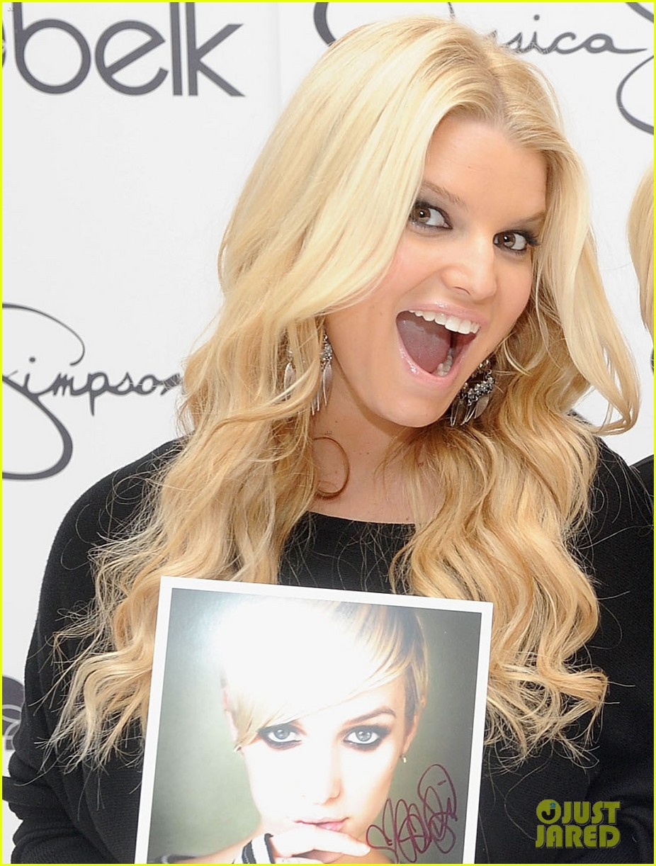 jessica simpson girls fashion collection launch with ashlee 052597156