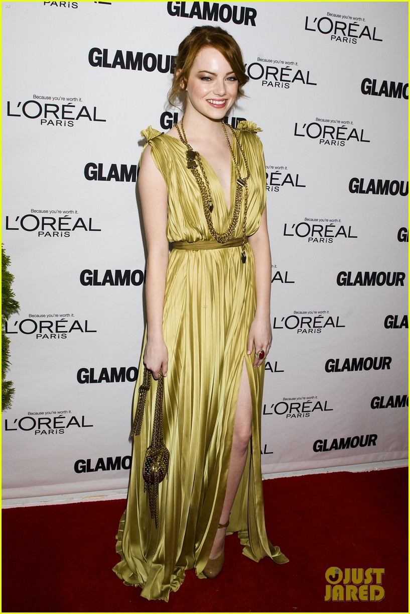 emma stone glamous awards 112597782