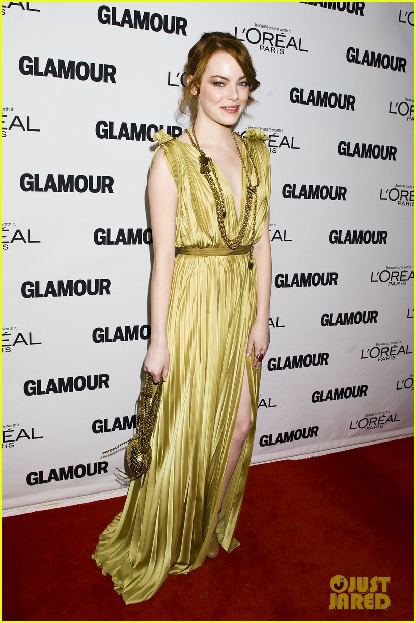 emma stone glamous awards 16