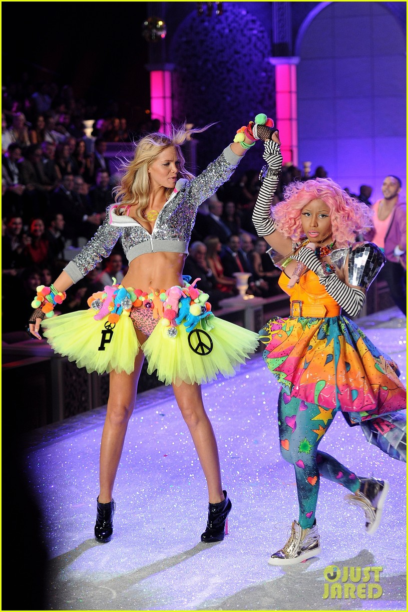 erin heatherton lily aldridge chanel iman victorias secret fashion show 132598749