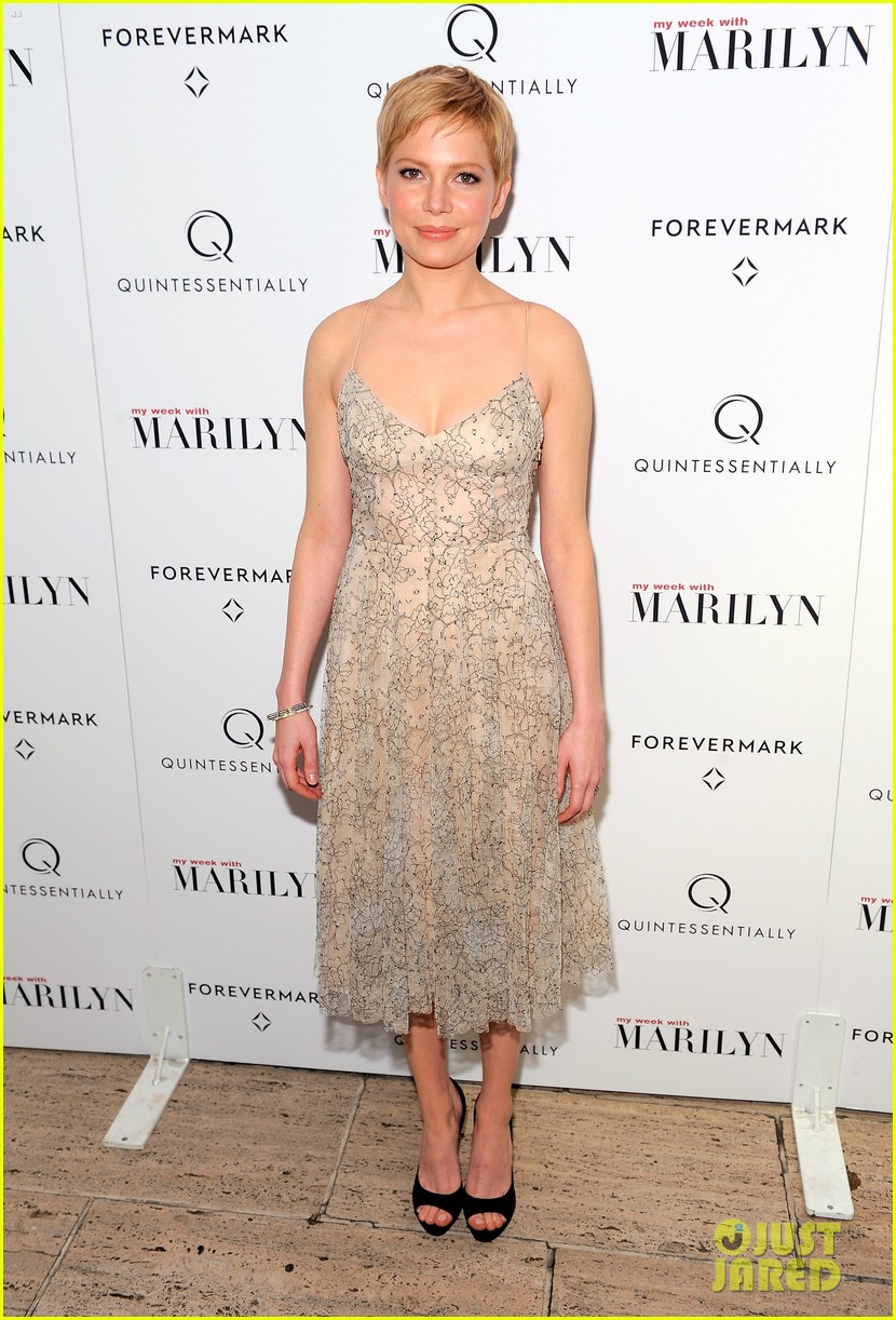 michelle williams marilyn nyc premiere 012599961
