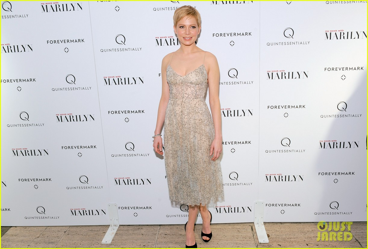 michelle williams marilyn nyc premiere 062599966