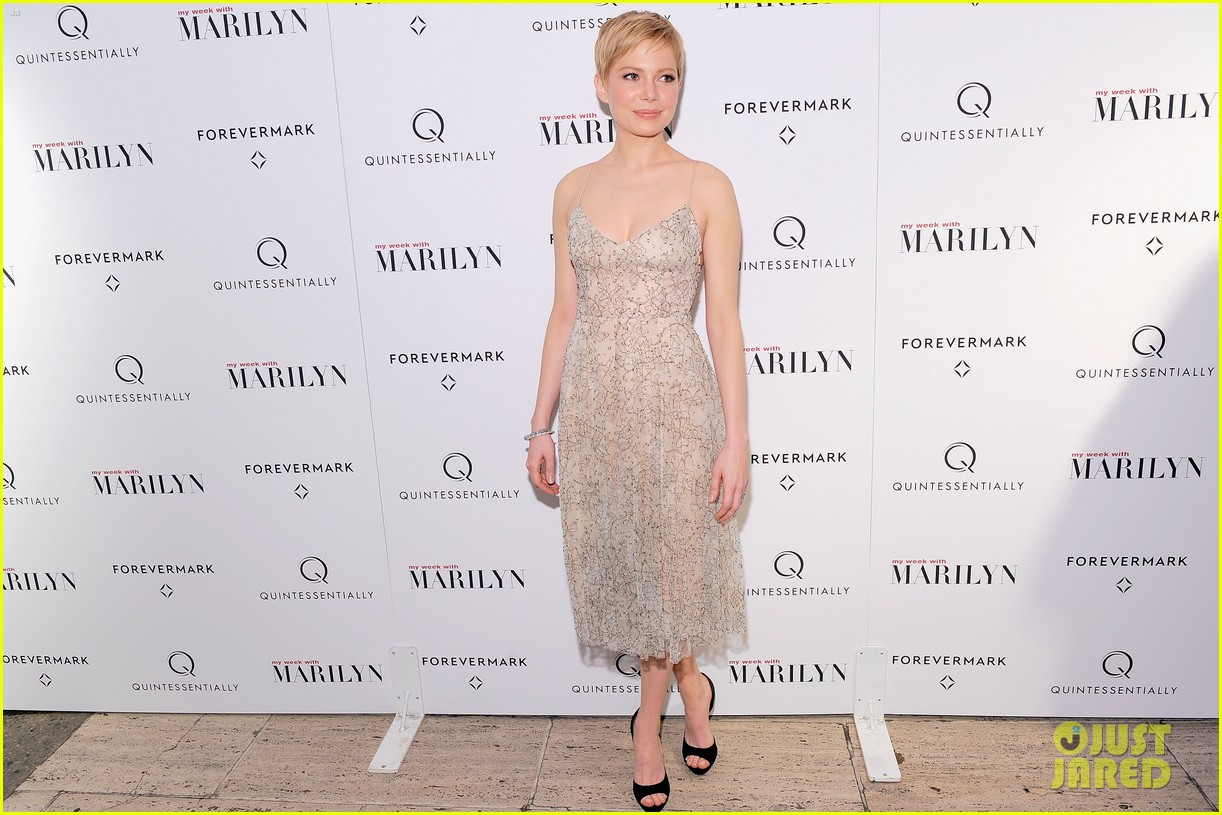 michelle williams marilyn nyc premiere 072599967
