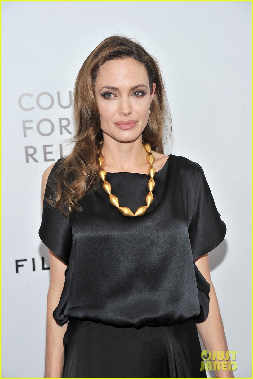 Angelina Jolie & Brad Pitt Blood & Honey Premiere Pair