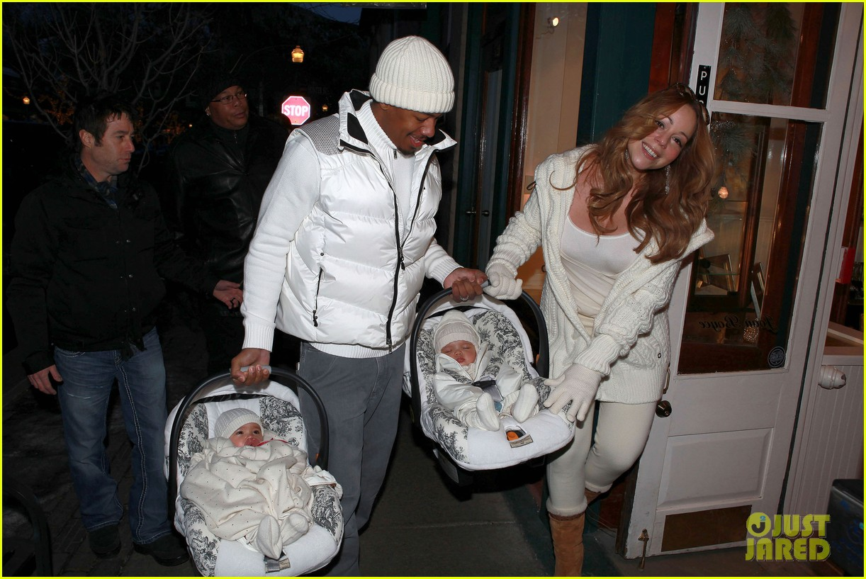 mariah carey aspen twins nick cannon 042613759
