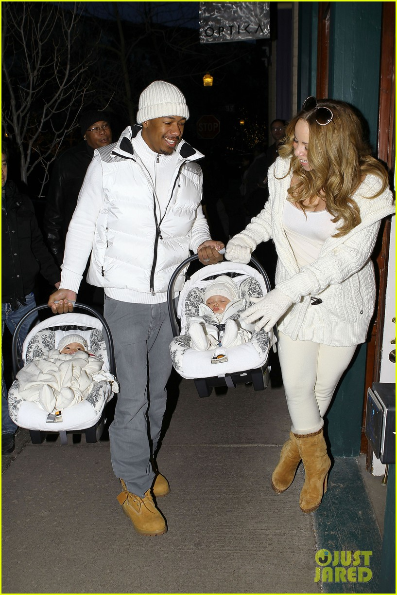 mariah carey aspen twins nick cannon 092613764