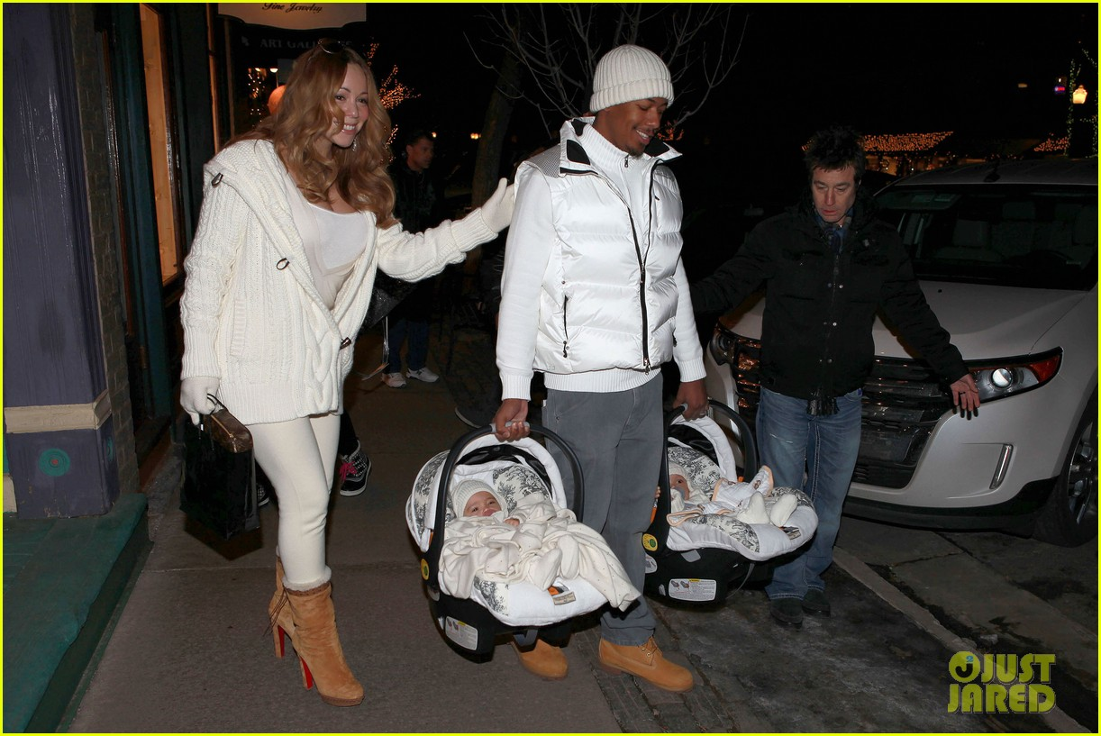 mariah carey aspen twins nick cannon 132613768
