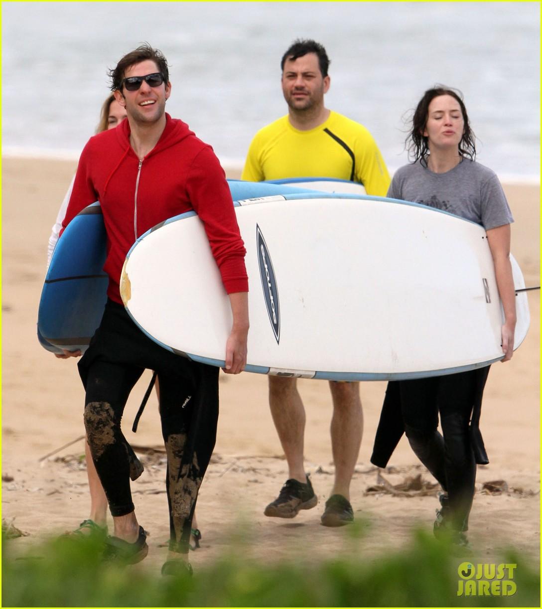 emily blunt john krasinski surf vacation 052613632