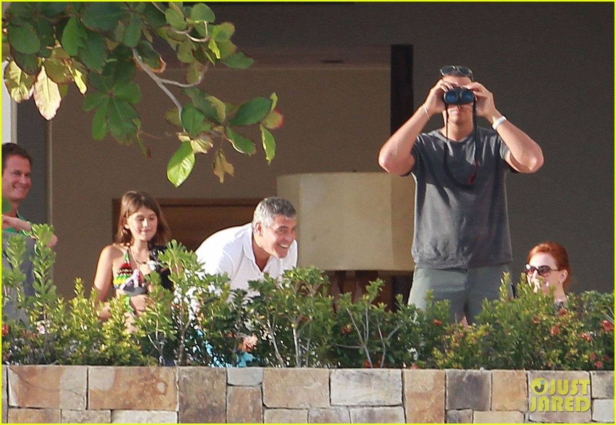 Clooney: George Photo Stacy with Cabo 2613142  Keibler!: