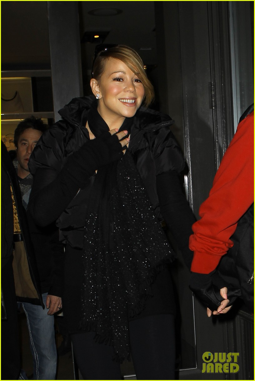 mariah carey shop aspen with nick cannon 122612118