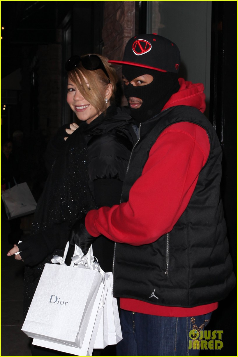 mariah carey shop aspen with nick cannon 19