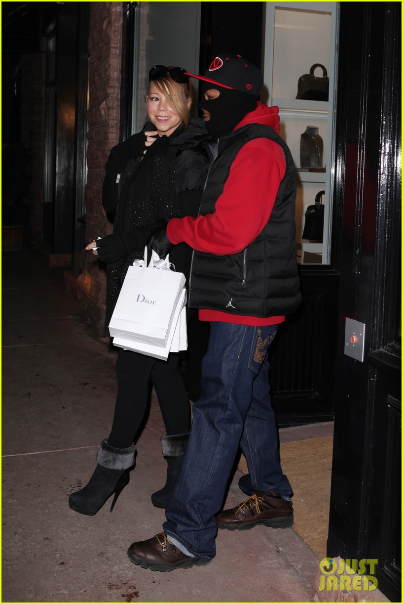 mariah carey shop aspen with nick cannon 292612135