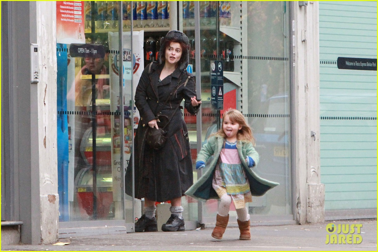 helena bonham carter tesco stop with nell 022612824