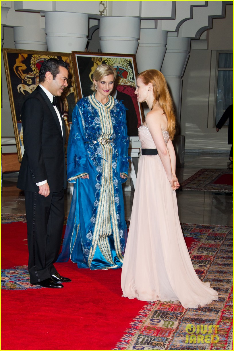 jessica chastain prince marrakech 01