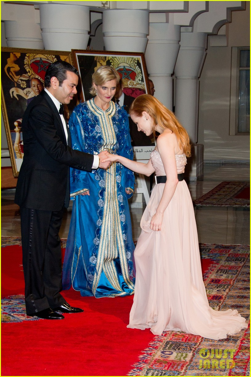 jessica chastain prince marrakech 032606458