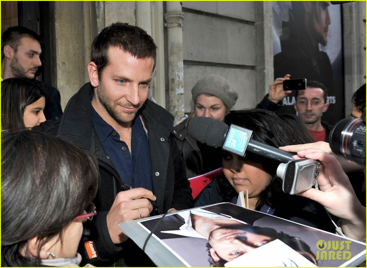 bradley cooper fluent in french on europe 1 012605467