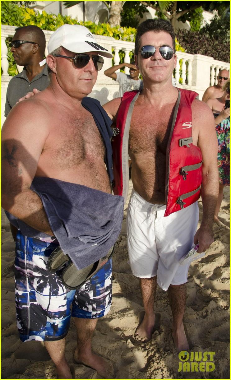 simon cowell shirtless barbados 072613558