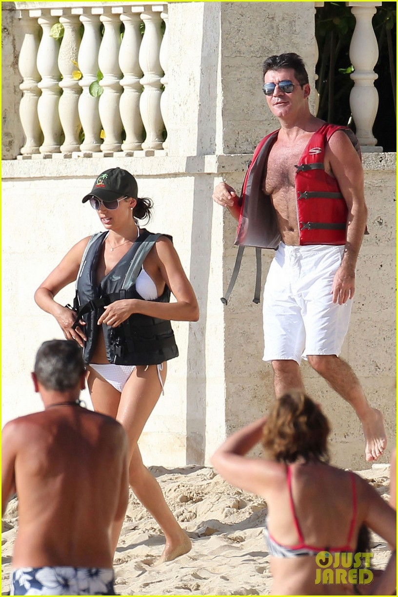 simon cowell shirtless barbados 10
