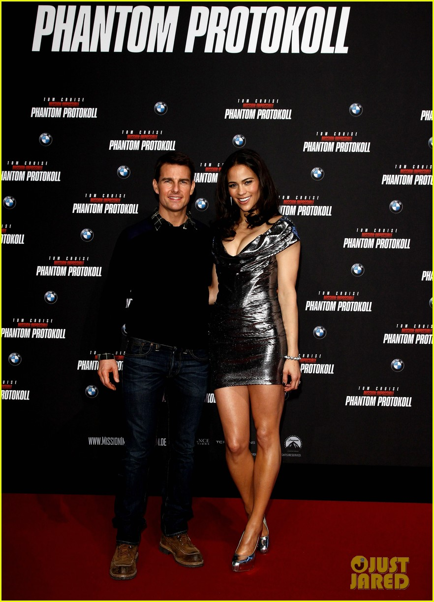 tom cruise paula patton ghost protocol munich 06