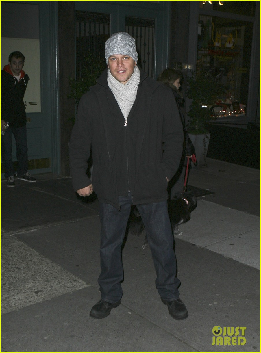 matt damon hotel nyc 012609078
