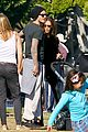 david beckham baby harper out stroller 02