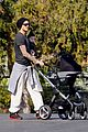david beckham baby harper out stroller 05