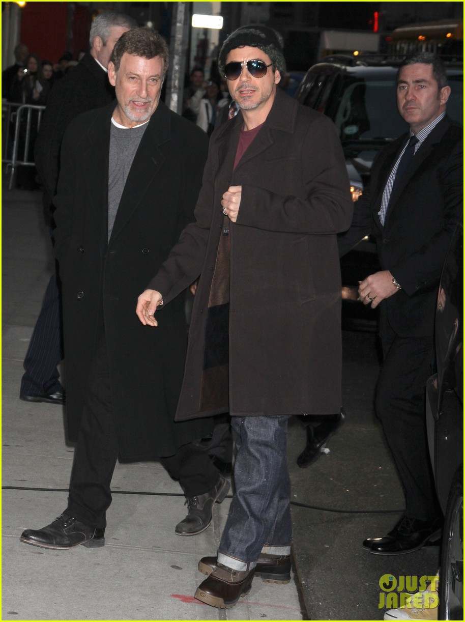 robert downey jr late show with david letterman 022610102